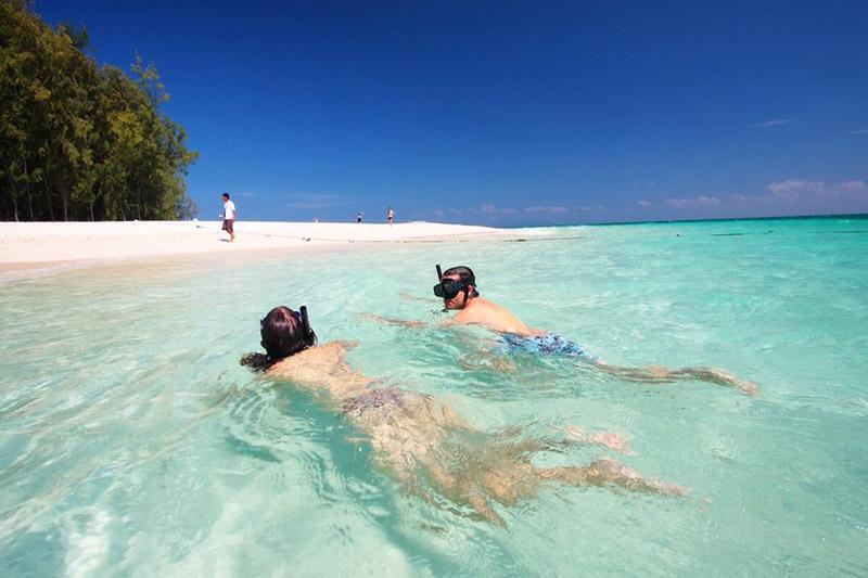 Сай Кео пляж Голубая лагуна