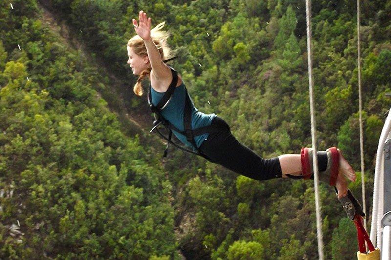 Bungy Jump - Прыжок с тарзанки