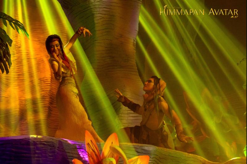 Шоу Химмапан Аватар в Бангкоке